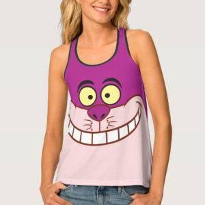 Cheshire Cat Face 3 Tank Top