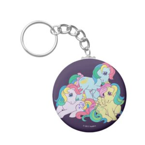 Classic Roseluck | Friends 4-Ever Keychain