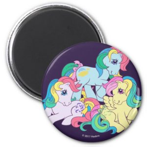 Classic Roseluck | Friends 4-Ever Magnet