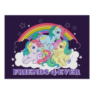 Classic Roseluck | Friends 4-Ever Poster