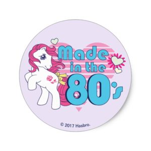 Classic | Roseluck | Made In The 80's Classic Round Sticker