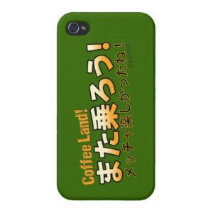 Coffee Land! Ride Over iPhone Case