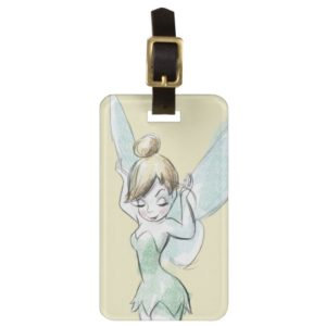 Confident Tinker Bell Luggage Tag