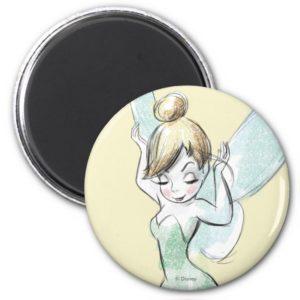 Confident Tinker Bell Magnet
