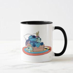 Cute Lilo & Stitch Stitch Sleeping Mug