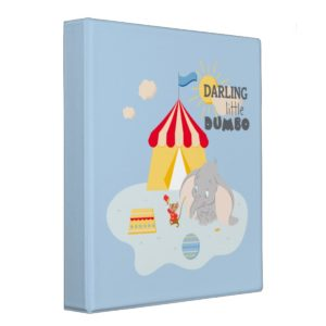 Darling Little Dumbo & Timothy 3 Ring Binder