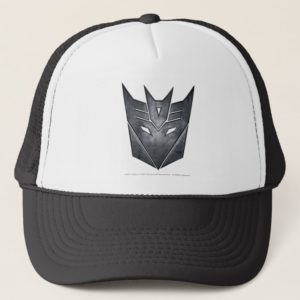 Decepticon Shield Metal Trucker Hat