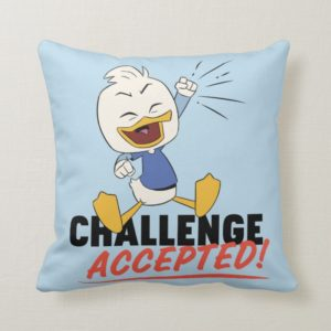 Dewey Duck | Challenge Accepted! Throw Pillow