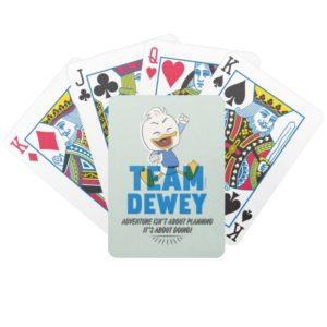 Dewey Duck   Team Dewey - Adventure Bicycle Playing Cards