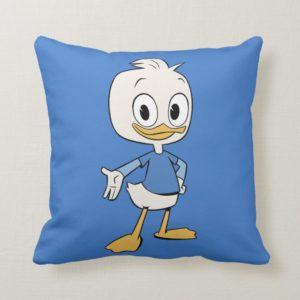 Dewey Duck Throw Pillow