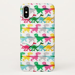 Dino Color Pattern Case-Mate iPhone Case