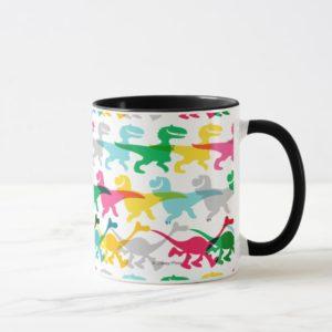 Dino Color Pattern Mug