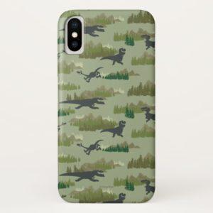 Dinosaurs Running Camo Pattern Case-Mate iPhone Case