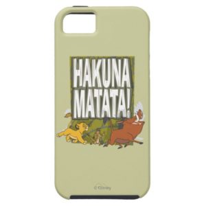 Disney Lion King Hakuna Matata! Case-Mate iPhone Case