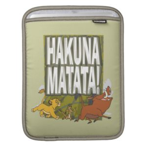 Disney Lion King Hakuna Matata! Sleeve For iPads
