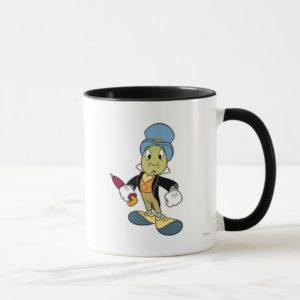 Disney Pinocchio Jiminy Cricket standing Mug