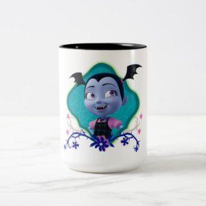 Disney | Vampirina - Vee - Gothic Floral Two-Tone Coffee Mug