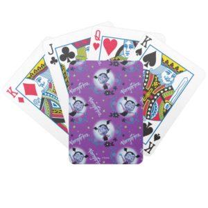 Disney   Vampirina - Vee - Gothic Pattern Bicycle Playing Cards