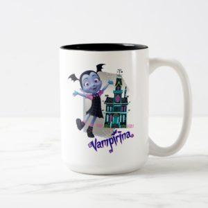 Disney   Vampirina - Vee - Haunted House Two-Tone Coffee Mug