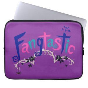 Disney | Vampirina - Vee - Spooky Typography Laptop Sleeve