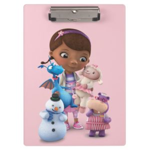 Doc McStuffins and Her Animal Friends Clipboard