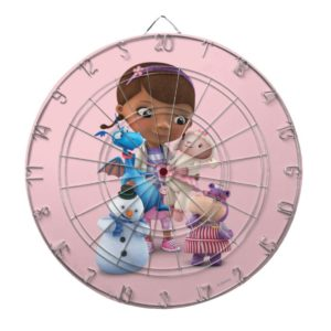 Doc McStuffins and Her Animal Friends Dartboard With Darts