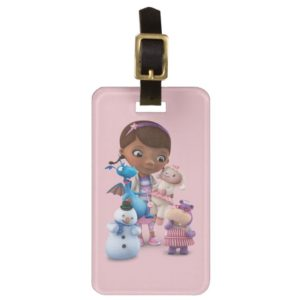 Doc McStuffins and Her Animal Friends Luggage Tag