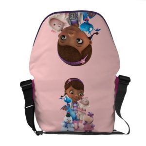 Doc McStuffins and Her Animal Friends Messenger Bag