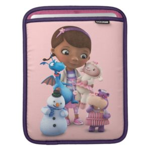 Doc McStuffins and Her Animal Friends Sleeve For iPads