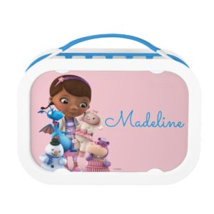 Doc McStuffins & Her Animal Friends - Personalized Lunch Box