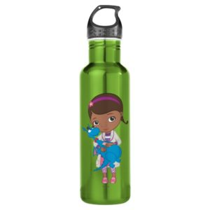 Doc McStuffins Holding  Stuffy Water Bottle