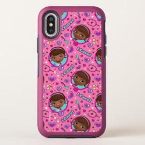 Doc McStuffins   I Care Pink Pattern OtterBox iPhone Case