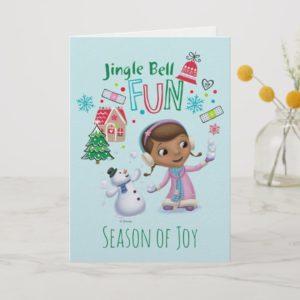 Doc McStuffins | Jingle Bell Fun Holiday Card