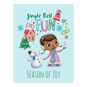 Doc McStuffins | Jingle Bell Fun Postcard