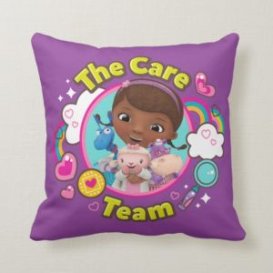 Doc McStuffins | The Care Team Throw Pillow