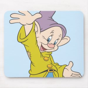 Dopey 4 mouse pad