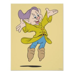 Dopey Jumping Poster
