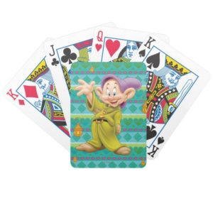 Dopey Waving Bicycle Playing Cards
