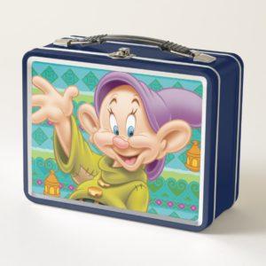 Dopey Waving Metal Lunch Box