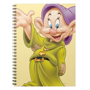 Dopey Waving Notebook