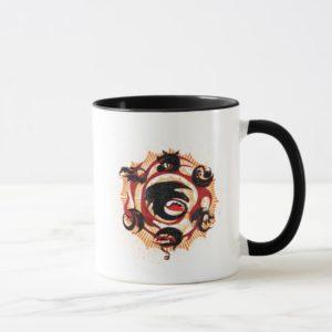 Dragon Silhouettes Mug