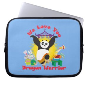 Dragon Warrior Love Laptop Sleeve