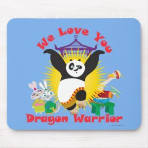 Dragon Warrior Love Mouse Pad