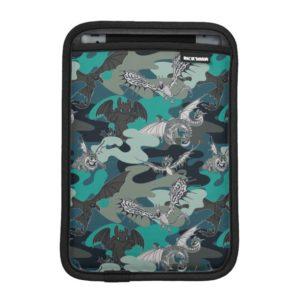 Dragons And Smoke Camouflage Pattern iPad Mini Sleeve