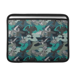 Dragons And Smoke Camouflage Pattern MacBook Air Sleeve