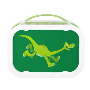 Drawing of Arlo Running Lunch Box