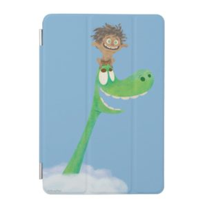 Drawing of Spot And Arlo In Clouds iPad Mini Cover