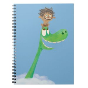 Drawing of Spot And Arlo In Clouds Notebook