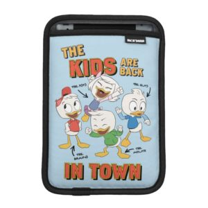 DuckTales   The Kids are Back in Town iPad Mini Sleeve