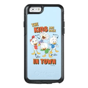 DuckTales | The Kids are Back in Town OtterBox iPhone Case